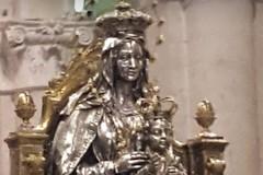 Folla di fedeli ha accompagnato questa mattina il simulacro della Madonna dei Miracoli al suo Santuario
