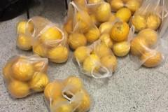 """Sequestrata frutta da venditore ambulante senza licenza e devoluta a Casa accoglienza """"S. Maria Goretti"""""""