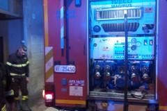 Auto in fiamme nel centro storico di Andria