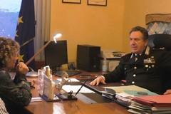 Un comando stazione dei Carabinieri forestali al quartiere di San Valentino
