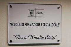 """La """"Scuola di Polizia Locale"""" di Andria intitolata all'Assistente di P.L. Natalia Sinisi"""