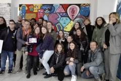 """""""Street Art Gallery"""" al centro commerciale Mongolfiera: primo premio alla scuola """"P.N.Vaccina"""""""