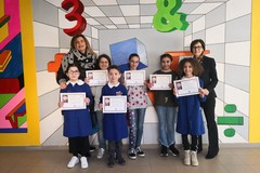"""Gli alunni dell'I.C. """" Jannuzzi-Mons. Di Donna"""" premiati ai Giochi Matematici Bocconi edizione 2018"""