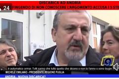 Nuova discarica ad Andria, Emiliano: «Se lo hanno detto i Cinquestelle allora è una balla»