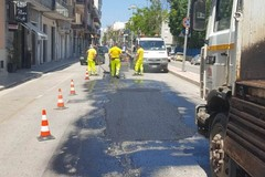 Viabilità urbana: ripristinato il fondo stradale in via Verdi