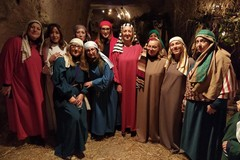 Presepe vivente nelle grotte di via San Vito