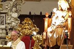 Mons. Luigi Mansi in pellegrinaggio al Santuario della Madonna dei Miracoli