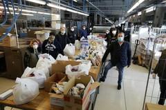 """Coronavirus: gli """"Amici per la Vita"""" donano viveri, 250 sacchetti a destinazione"""