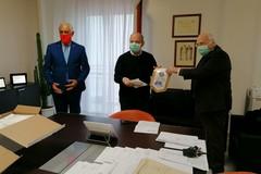"""Dispositivi per la protezione personale donati dal Rotary Andria """"Castelli Svevi""""all'Asl Bat"""