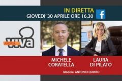 Coratella e Di Pilato oggi ospiti in diretta su AndriaViva