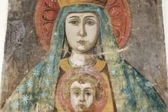 Restauro dell'affresco della Madonna di Trimoggia