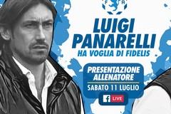 Fidelis Andria, il nuovo allenatore è Luigi Panarelli