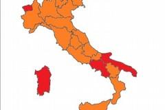 La Puglia zona rossa o arancione?