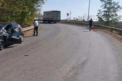 Incidente allo svincolo della Sp 231 per via Canosa ad Andria