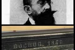 Ad Andria ritrovate l'immagine dell'artista Pàstina e una rotaia del 1880