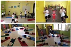 """Al via """"Yoga kids"""" all' I.C.  """"Don Bosco – Manzoni"""" di Andria"""