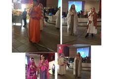 """Tra suoni e colori, una sfilata di abiti interreligiosi all'I.C. """"Verdi-Cafaro"""""""