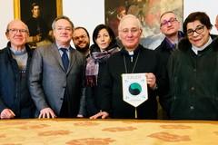 Il direttivo del C.A.L.C.I.T. incontra Mons. Mansi
