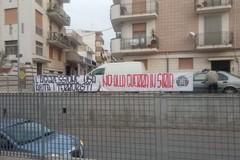 CasaPound, striscioni nella Bat contro la guerra in Siria