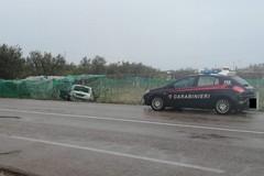 Andria-Bisceglie: Perde il controllo dell'auto e finisce fuori strada