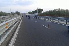 Incidente sulla sp 231 direzione Canosa di Puglia, incrocio per Montegrosso