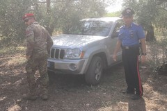 Controlli dei Carabinieri sulla Murgia andriese: ritrovate auto rubate