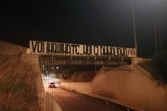 """""""Voi inquinate, noi ci ammaliano!"""" ancora proteste di CasaPound ad Andria"""