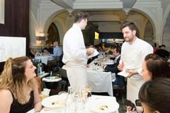 """Lo chef stellato Felice Sgarra torna """"a scuola"""" e incanta gli studenti dell'alberghiero di Roccaraso"""
