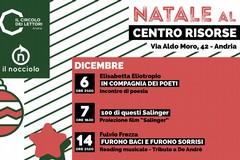 """""""Natale al Centro Risorse"""", ricco Dicembre con il Circolo Lettori di Andria e l'associazione """"Il Nocciolo"""""""