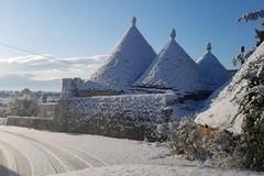 Meteo: arriva Burian in Puglia, con la neve nel fine settimana