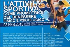 «Corretta nutrizione e sport»: un seminario per spiegare il binomio