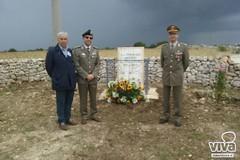 Ai piedi di Castel del Monte un monumento per ricordare gli Ufficiali Altieri ed Orlando