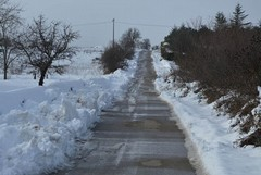 Emergenza neve rientrata ad Andria: problemi a Minervino e Spinazzola