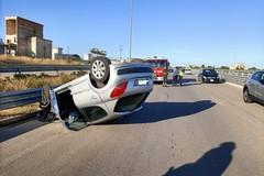 """Grave incidente stradale sull'Andria Trani: ferito trasportato in codice rosso al """"Bonomo"""""""