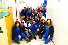 """A.M.A. alla pediatria del """"L. Bonomo"""" con l'associazione """"In Compagnia del Sorriso Onlus"""""""