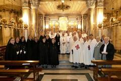 Basilica Madonna dei Miracoli: celebrazione del Vescovo Mansi a conclusione anno sociale dell'Ordine del S. Sepolcro