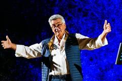 Grande successo per lo spettacolo di Giuseppe Fanfani