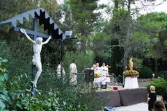 Chiesa di San Luigi: festa alle pendici del maniero in onore della Madonna