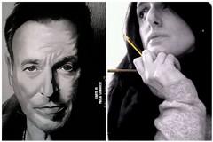 Il ritratto di Bruce Springsteen di Paola Lomuscio in mostra in America