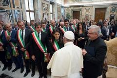 Il Sindaco Giorgino ricevuto da Papa Francesco