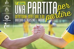 """Giunge alla VI edizione il quadrangolare di calcio """"Una partita per partire"""""""