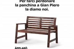 """La panchina a Gian Piero la diamo noi"", l'ironia di Ikea dopo Italia-Svezia"