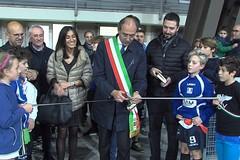 Nuovo centro polivalente sportivo, taglio del nastro nel Quartiere Europa