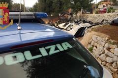 """Nuovi controlli della Polizia di Stato: unità cinofila anche alla scuola """"E. Carafa"""""""
