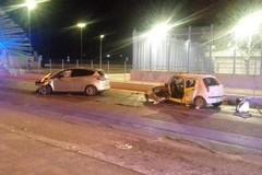 Incidente stradale all'altezza del carcere di Trani, feriti giovani andriesi