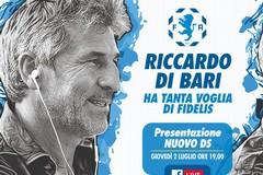 Fidelis, è Riccardo Di Bari il neo Direttore Sportivo dell'Andria