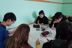 Ricercatrice tedesca studia con alunni e docenti di Andria