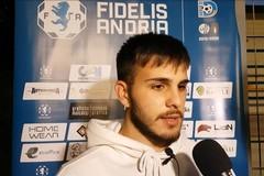 Fidelis, parla l'esterno Ruben Nives: «Contento di essere tornato, Andria piazza importante»