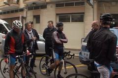 Memorial Day, le foto dell'arrivo ad Andria dei ciclisti del SAP