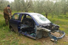 Furti di cavi elettrici e scocche d'auto rinvenuti dai Federiciani